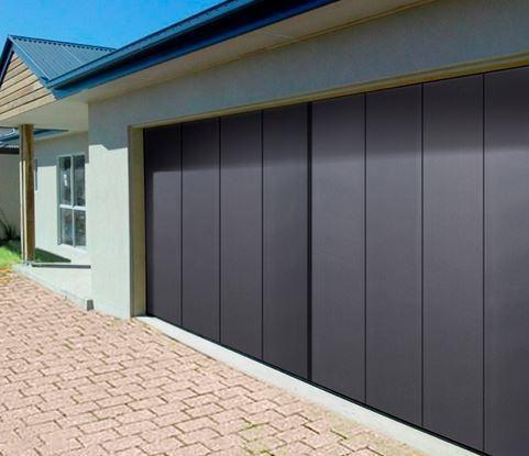 Porte de garage sectionnelle lat rale comines lille for Panne porte de garage sectionnelle