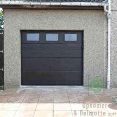 Opsomer & Delmotte - Sectionale garagepoort
